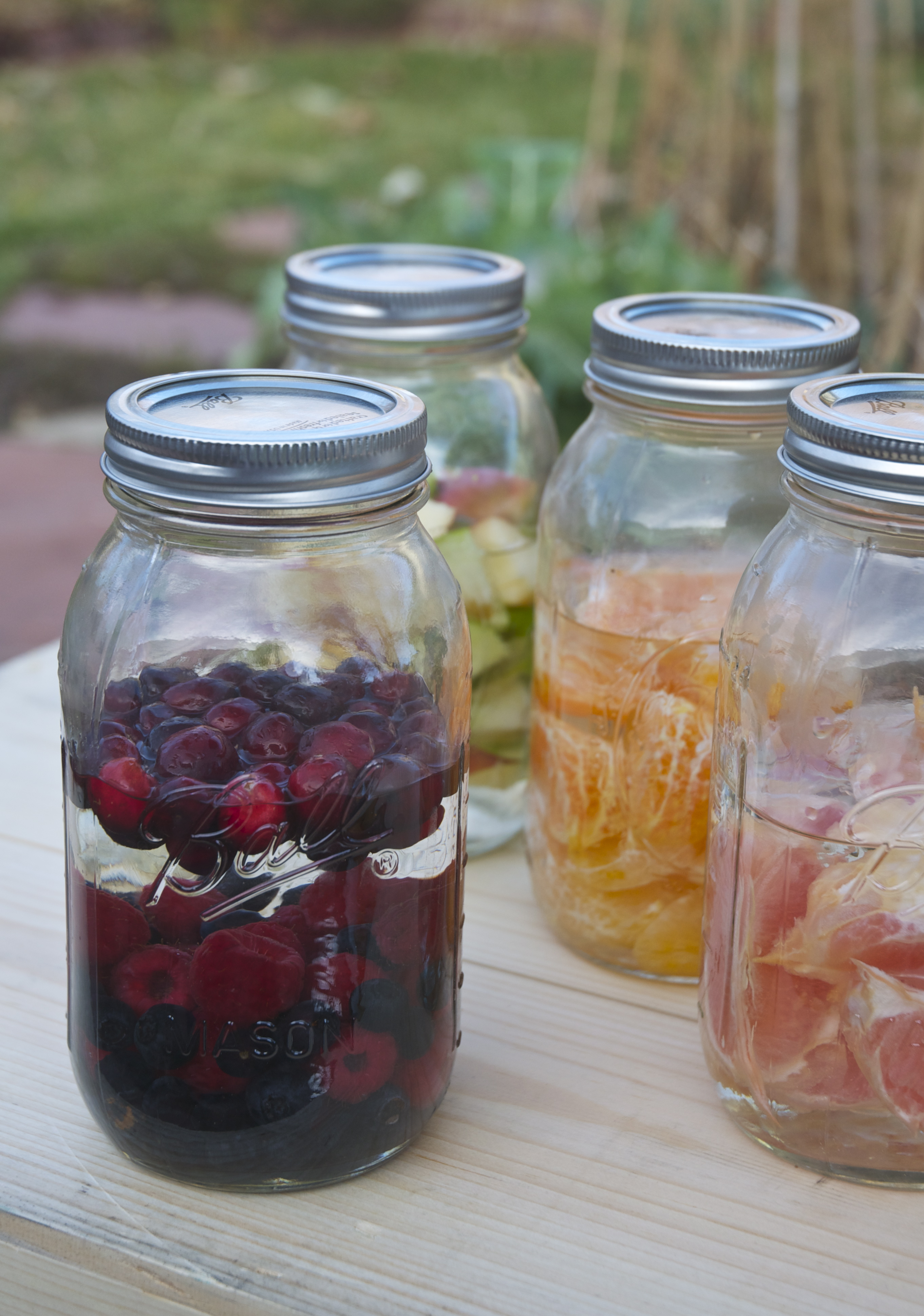 How to make your own infused vodka with fruits spices for Spiced cranberry sauce with orange and star anise
