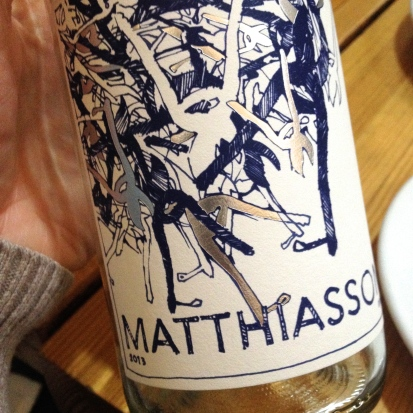 The day before my birthday, Steve and I hit the Matthiasson lunch at Fuel Café in the RiNo District in Denver. This guy's wines are bomb. Not to be missed and well worth a splurge!