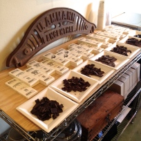 We stopped by Ritual Chocolate to sample some of their amazing chocolates. I had already tasted through their collection before stopping by, but it is always a good idea to revisit...just to make sure!