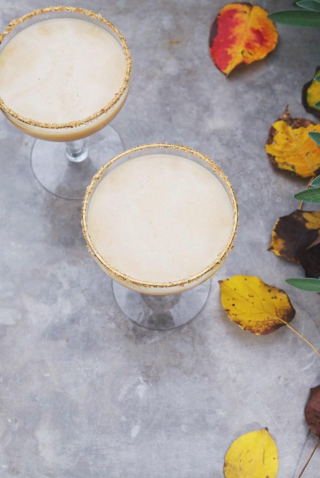 pumpkin pie martini | holly & flora