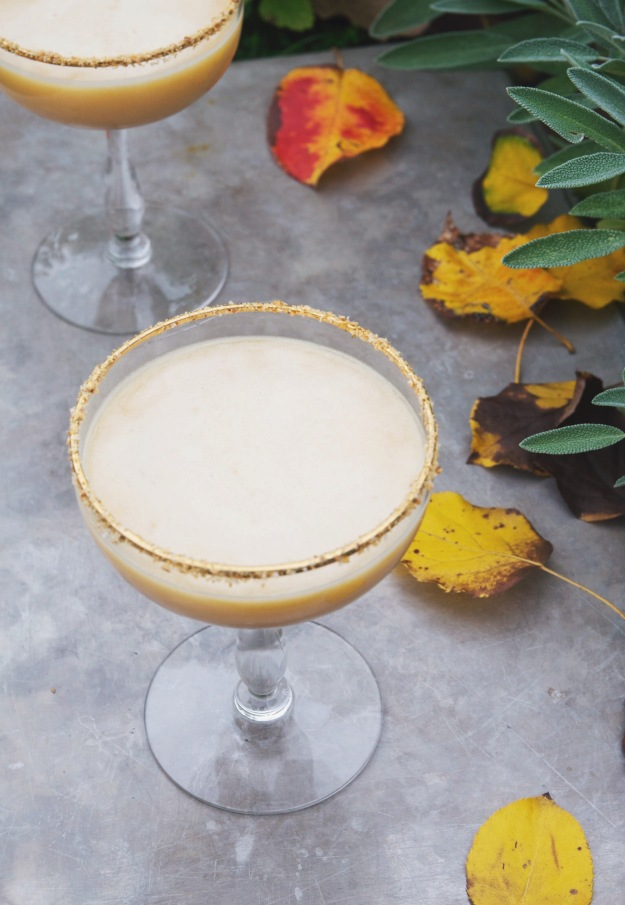 pumpkin pie martini | holly & flora