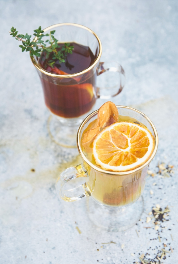 fall hot toddies | holly & flora | with DRAM apothecary and leopold bros.