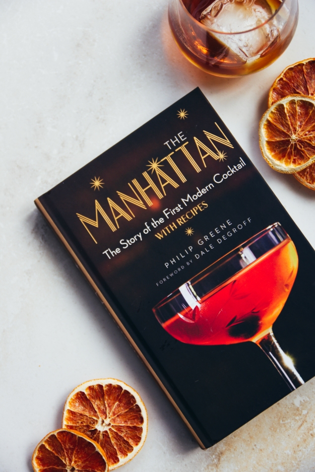 manhattan | a visit, a cocktail + a book | holly & flora
