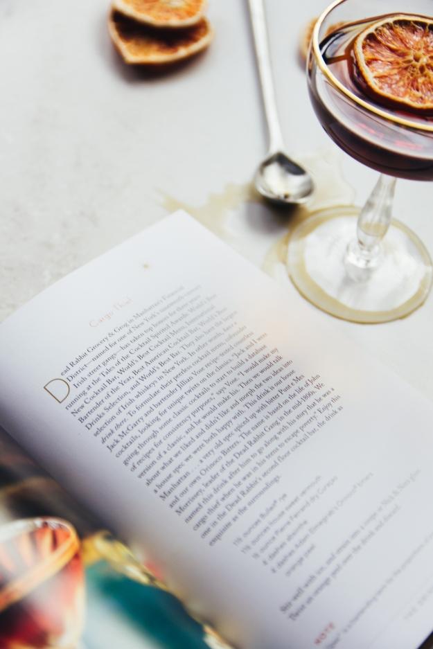 manhattan | a visit, a cocktail + a book | holly & flora