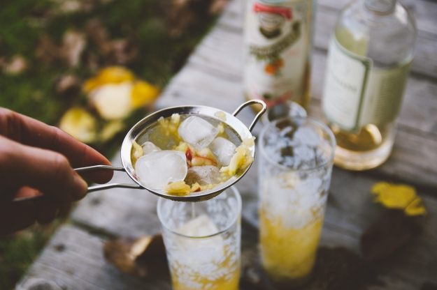 the north fork iced tea | a college classic grows up | holly & flora